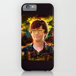 Hideo Kojima iPhone Case