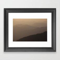 golden tales Framed Art Print