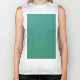 teal waters texture Biker Tank