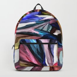 Colored Ribbons Backpack