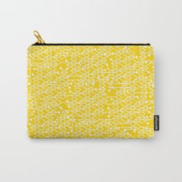 Microchip Pattern (Yellow) Carry-All Pouch