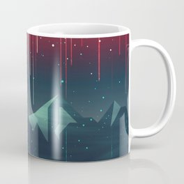 Geminids Meteor Shower Coffee Mug