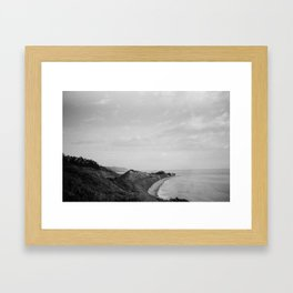 Picture Perfect Rincon Point  Framed Art Print