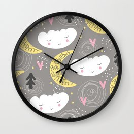 Kid Art Wall Clock