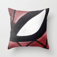 SPIDEY FACE Throw Pillow