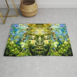 Brother Meditation Rug
