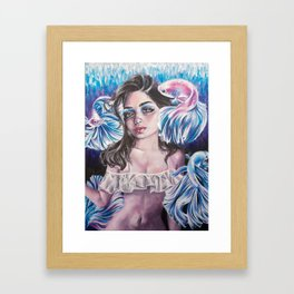 Glimmer Framed Art Print
