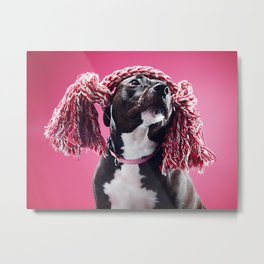 Super Pets Series 1 - Raggedy Lucy Metal Print