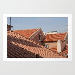 Rooftops of the Alfama Art Print