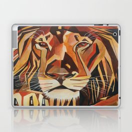 Lion Vector In Cubist Style Laptop & iPad Skin