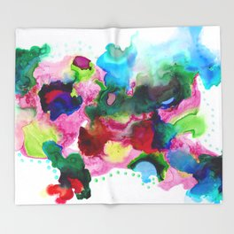 Ink 108 Throw Blanket
