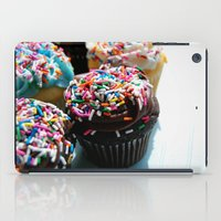 cupcakes iPad Cases featuring Cupcakes by Gabby DaRienzo