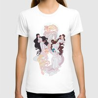 mucha T-shirts featuring Sailor Mucha by Dixie Leota