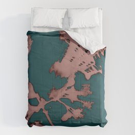 2020 Fall/Winter 01 Teal Comforters