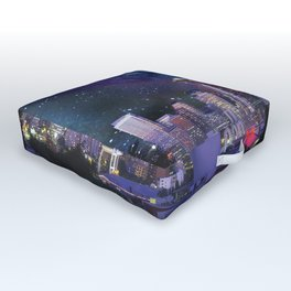 Spacey Seattle Outdoor Floor Cushion