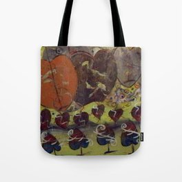 Field of Hearts and Spades Tote Bag