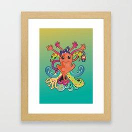 Monsters Revisited Framed Art Print