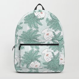 Fern-tastic Girls in Sage Green Backpack