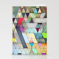 triangles Stationery Cards featuring Triangles  by Jason Michael