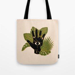 Mystic Hand Tote Bag