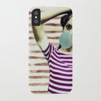 bubble iPhone & iPod Cases featuring Bubble by Mi Nu Ra