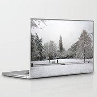 england Laptop & iPad Skins featuring England Winter by Becky M