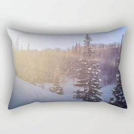 Winter sky Utah Rectangular Pillow
