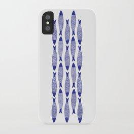 Blå Sild iPhone Case
