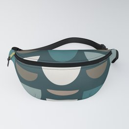 Turquoise Bowls Fanny Pack