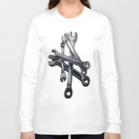 tool Long Sleeve T-shirts featuring Tool by LewisLeathers