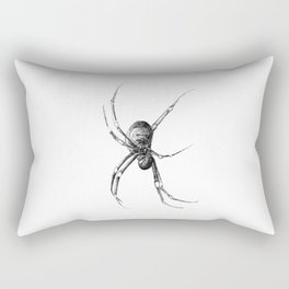 Golden Orb Weaver Rectangular Pillow