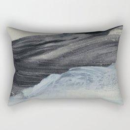 minimal brushstrokes 1 Rectangular Pillow