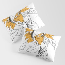 Catflower Pillow Sham
