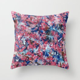 Emotions in Color Throw Pillow