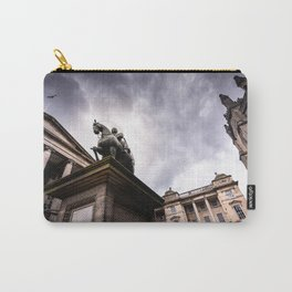 Statue of King Charles II in Parliament Square, Edinburgh Scotland Carry-All Pouch
