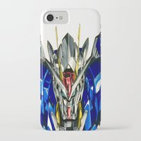 gundam iPhone & iPod Cases featuring Gundam 00 by Glen Howy