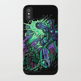 Pacific Retro iPhone Case