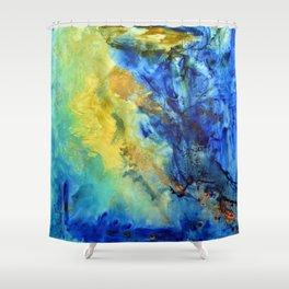"""Wave"" Shower Curtain"