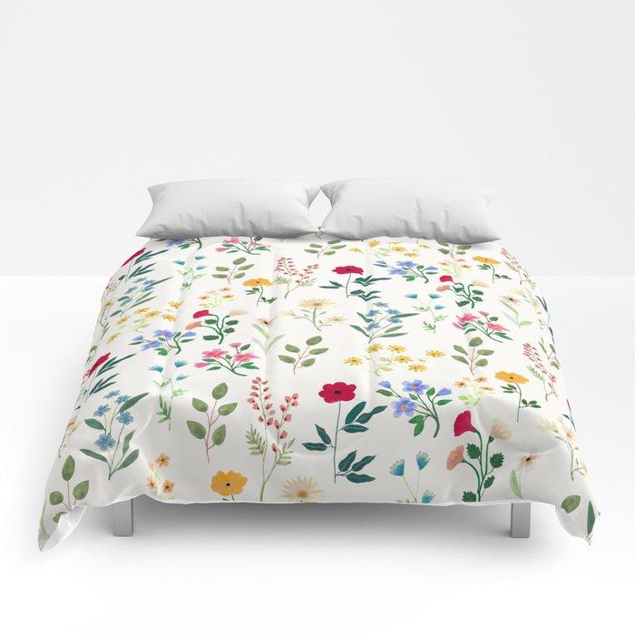 Spring Botanicals Comforters