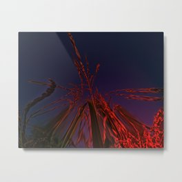 Corn and Sun Metal Print