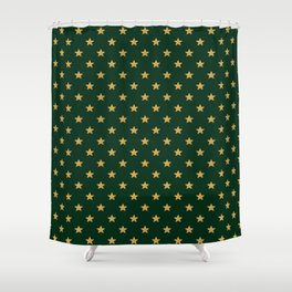 Pattern Stars Shower Curtain