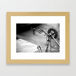 What once was a trusty steed.. Framed Art Print