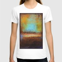 swimming T-shirts featuring Swimming by Liz Moran