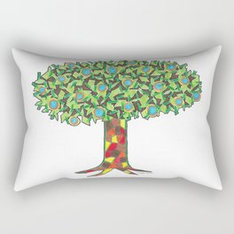 Fruit Tree Rectangular Pillow