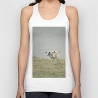 cows Tank Tops featuring Moo Cows by Pure Nature Photos
