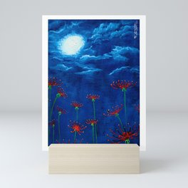 Midnight Spiderlily #0 Mini Art Print