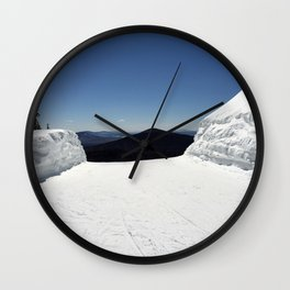View from Superstar, Killington Wall Clock