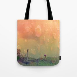 Rain in September Tote Bag