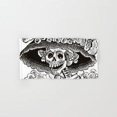Calavera Catrina | Black and White Hand & Bath Towel