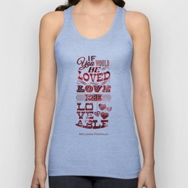 To Be Loved Unisex Tank Top